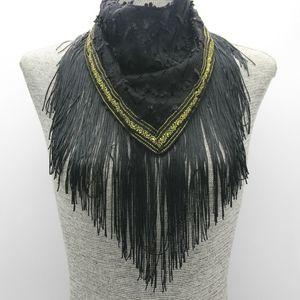 Fringe Necklace scarf